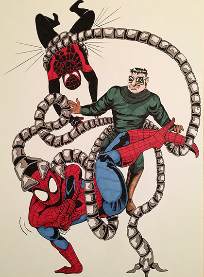 LibCon fan art - Spider-Man