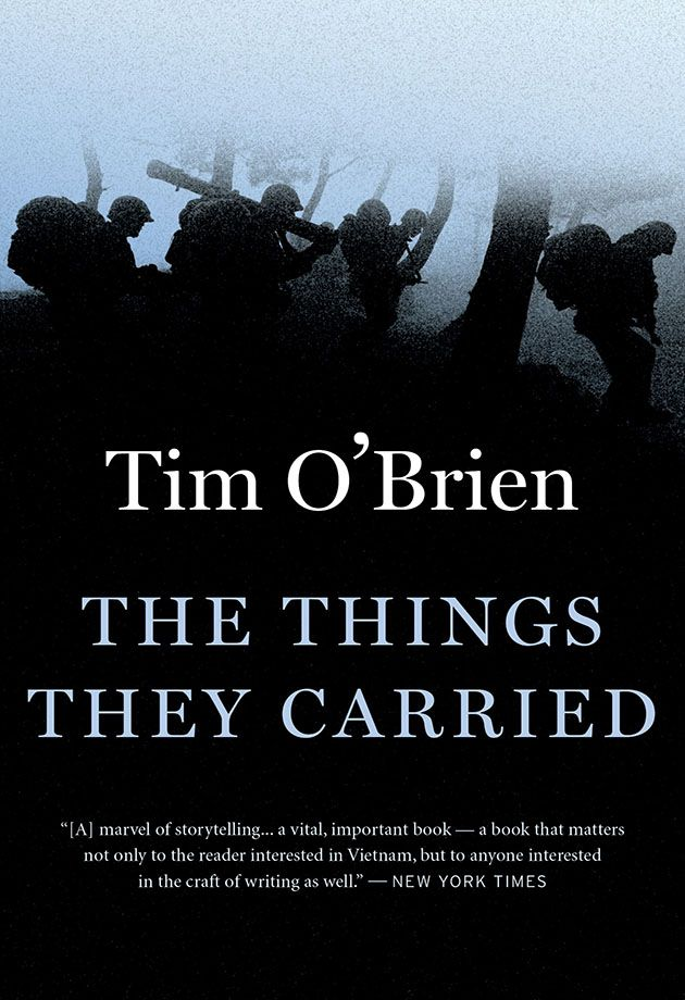 Book cover - The Things They Carried by Tim O'Brien